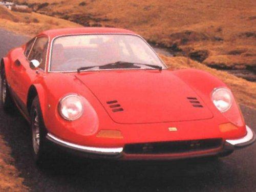 Ferrari Dino 246GT. Carroz